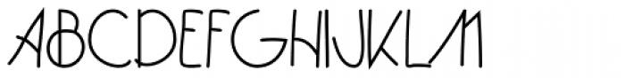 Bartleby Black Font UPPERCASE