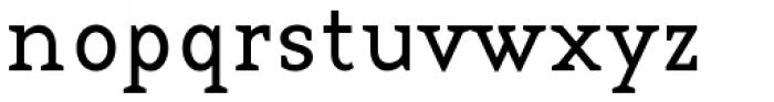 Base 12 Serif Font LOWERCASE