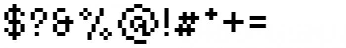 Basic Pixel Standard Font OTHER CHARS