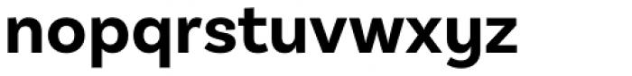 Basic Sans Alt Bold Font LOWERCASE