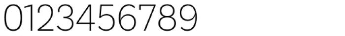 Basic Sans Alt Narrow Extra Light Font OTHER CHARS