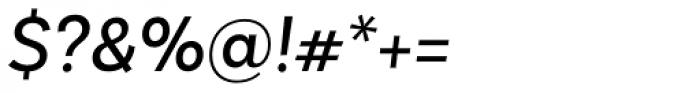 Basic Sans Alt Regular Italic Font OTHER CHARS