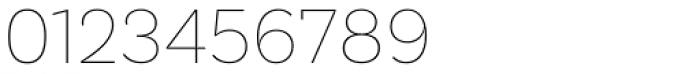 Basic Sans Alt Thin Font OTHER CHARS