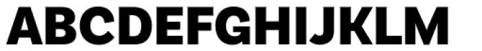 Basic Sans Black Font UPPERCASE