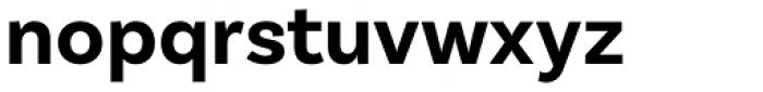 Basic Sans Bold Font LOWERCASE
