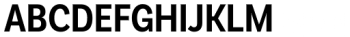 Basic Sans Cnd Semi Bold Font UPPERCASE