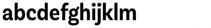 Basic Sans Cnd Semi Bold Font LOWERCASE