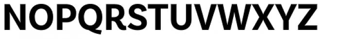 Basic Sans Narrow Bold Font UPPERCASE