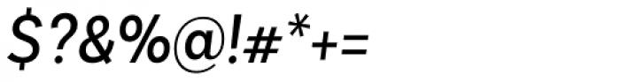 Basic Sans Narrow Regular It Font OTHER CHARS