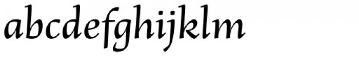 Basile Font LOWERCASE