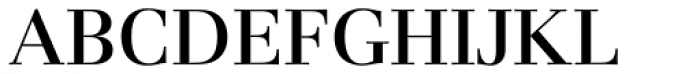 Basilia Medium Font UPPERCASE