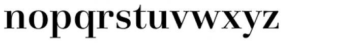 Basilia Medium Font LOWERCASE