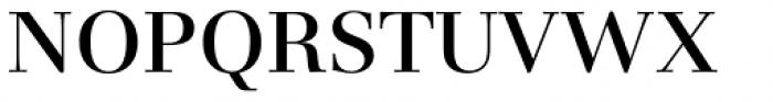 Basilia Pro Medium Font UPPERCASE