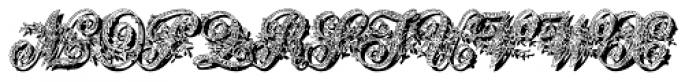 Basilissa Shadow Font LOWERCASE