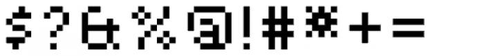 Basis Alternate Font OTHER CHARS
