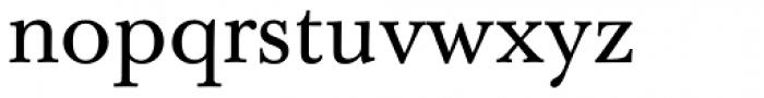 Baskerville 10 Pro Font LOWERCASE