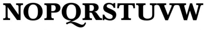 Baskerville Bold Font UPPERCASE