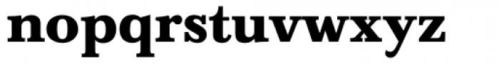 Baskerville Bold Font LOWERCASE