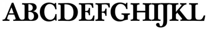 Baskerville Book Pro Medium Font UPPERCASE