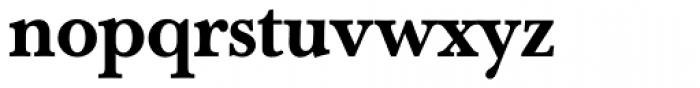 Baskerville Book Pro Medium Font LOWERCASE