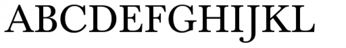 Baskerville Com Regular Font UPPERCASE