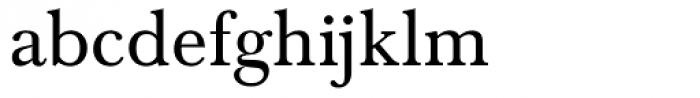 Baskerville Com Regular Font LOWERCASE