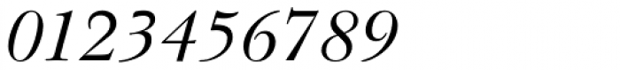 Baskerville Cyrillic Italic Font OTHER CHARS