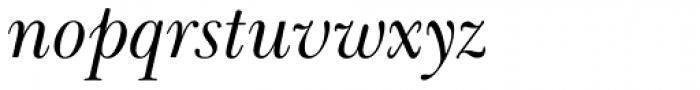 Baskerville Cyrillic Italic Font LOWERCASE