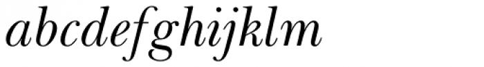 Baskerville Greek Inclined Font LOWERCASE