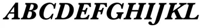 Baskerville MT Bold Italic Font UPPERCASE