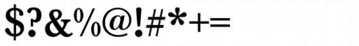 Baskerville Medium Font OTHER CHARS