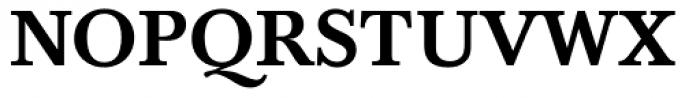 Baskerville Medium Font UPPERCASE