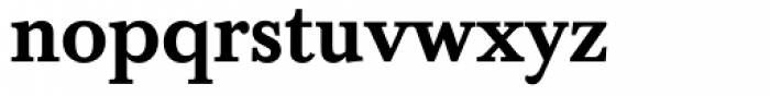 Baskerville Medium Font LOWERCASE
