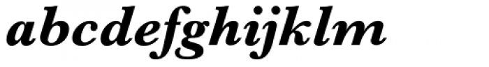 Baskerville No 2 Bold Italic Font LOWERCASE