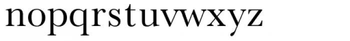 Baskerville No.2 Roman Font LOWERCASE