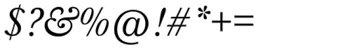Baskerville Nr 1 SB Italic Font OTHER CHARS