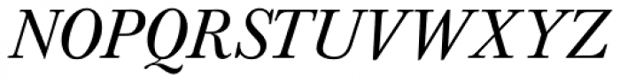 Baskerville Nr 1 SB Italic Font UPPERCASE