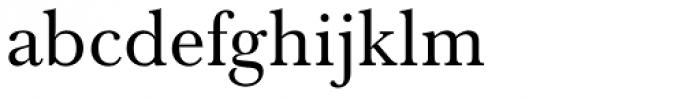 Baskerville Nr 1 SB Font LOWERCASE