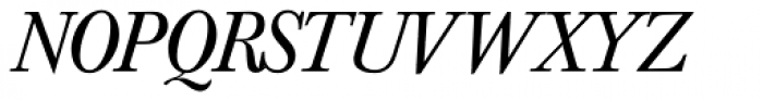 Baskerville Nr 1 SH Italic Font UPPERCASE
