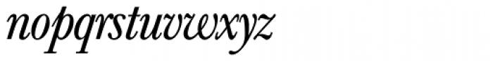 Baskerville Nr 1 SH Italic Font LOWERCASE