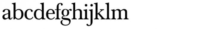 Baskerville Nr 1 SH Font LOWERCASE