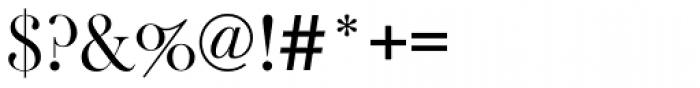 Baskerville Old Face EF Regular Font OTHER CHARS