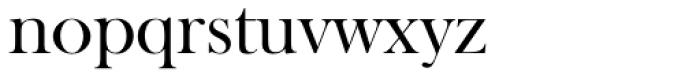 Baskerville Old Face EF Regular Font LOWERCASE