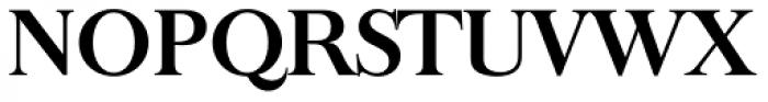 Baskerville Old Serial Bold Font UPPERCASE