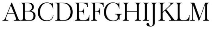 Baskerville Old Serial Light Font UPPERCASE