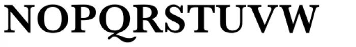 Baskerville Pro SemiBold Font UPPERCASE