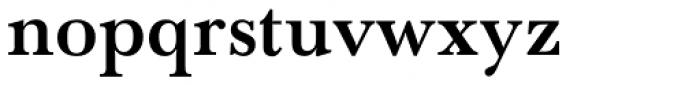 Baskerville SB Bold Font LOWERCASE