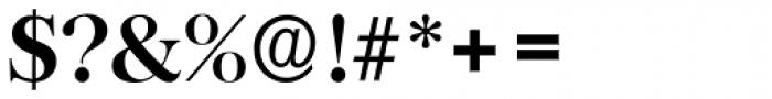Baskerville Serial Bold Font OTHER CHARS