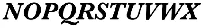 Baskerville Std Bold Italic Font UPPERCASE