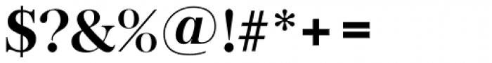 Baskerville TS DemiBold Font OTHER CHARS